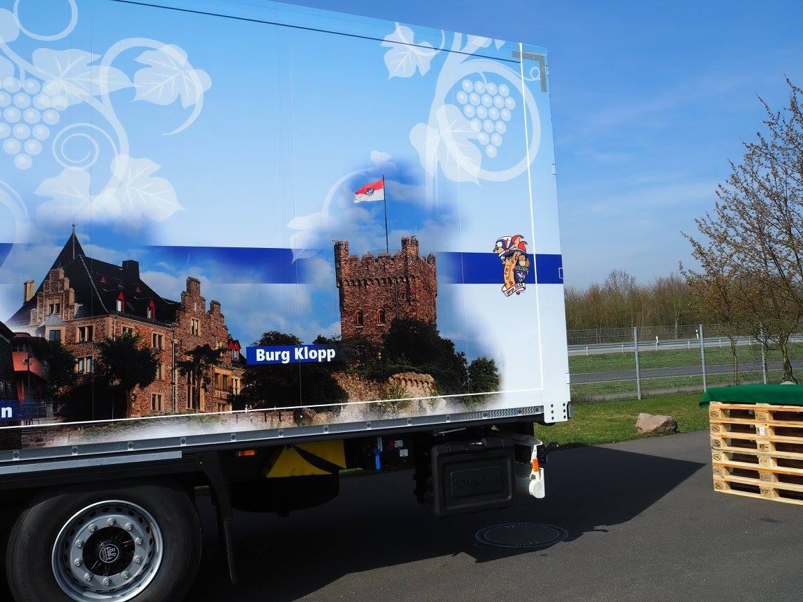Ojo auf Europareise mit Spedition Schmelzer