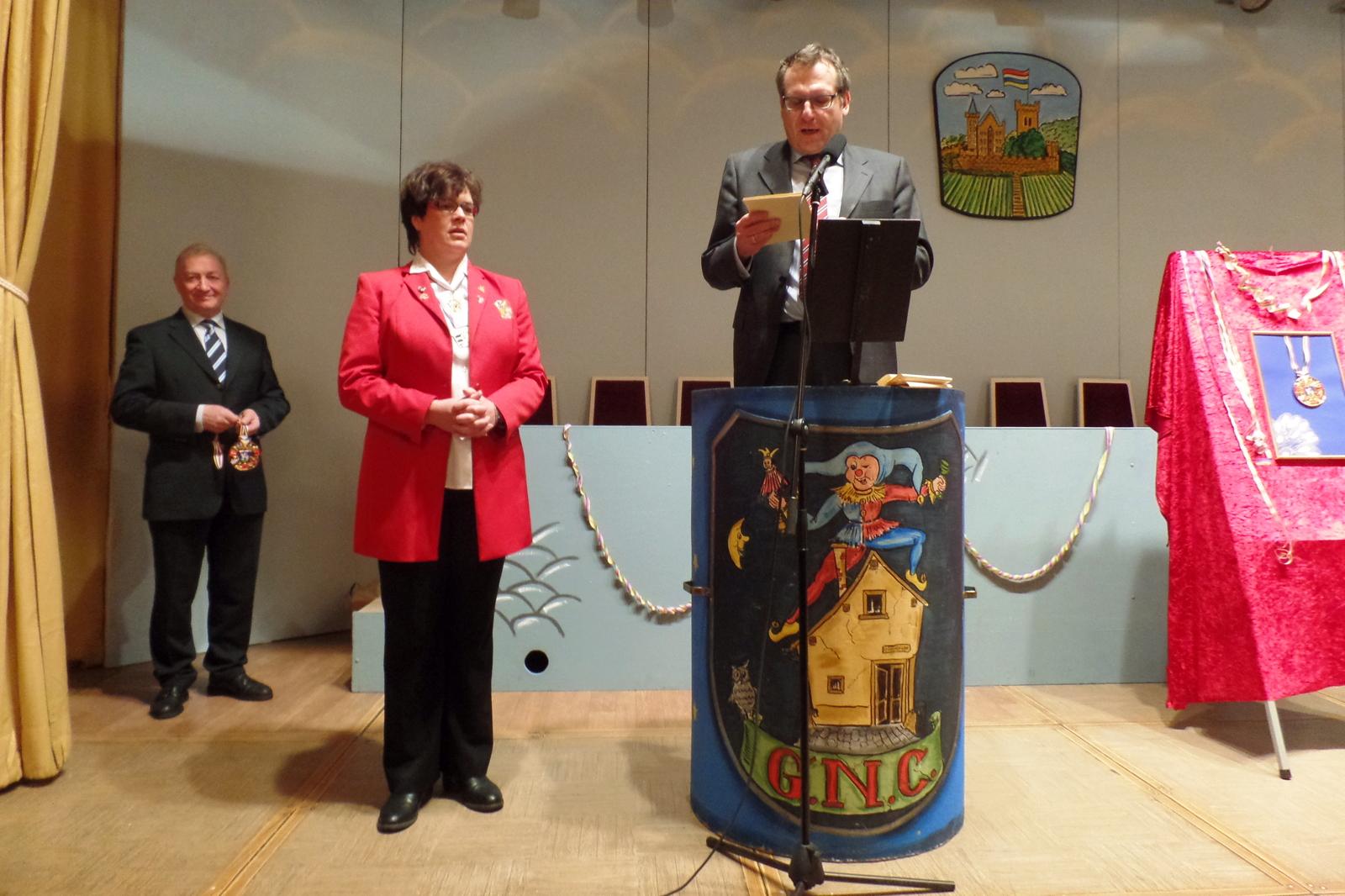 Unsere Vizepräsidentin Manuela Haas erhält den Binger Stadtorden 2016